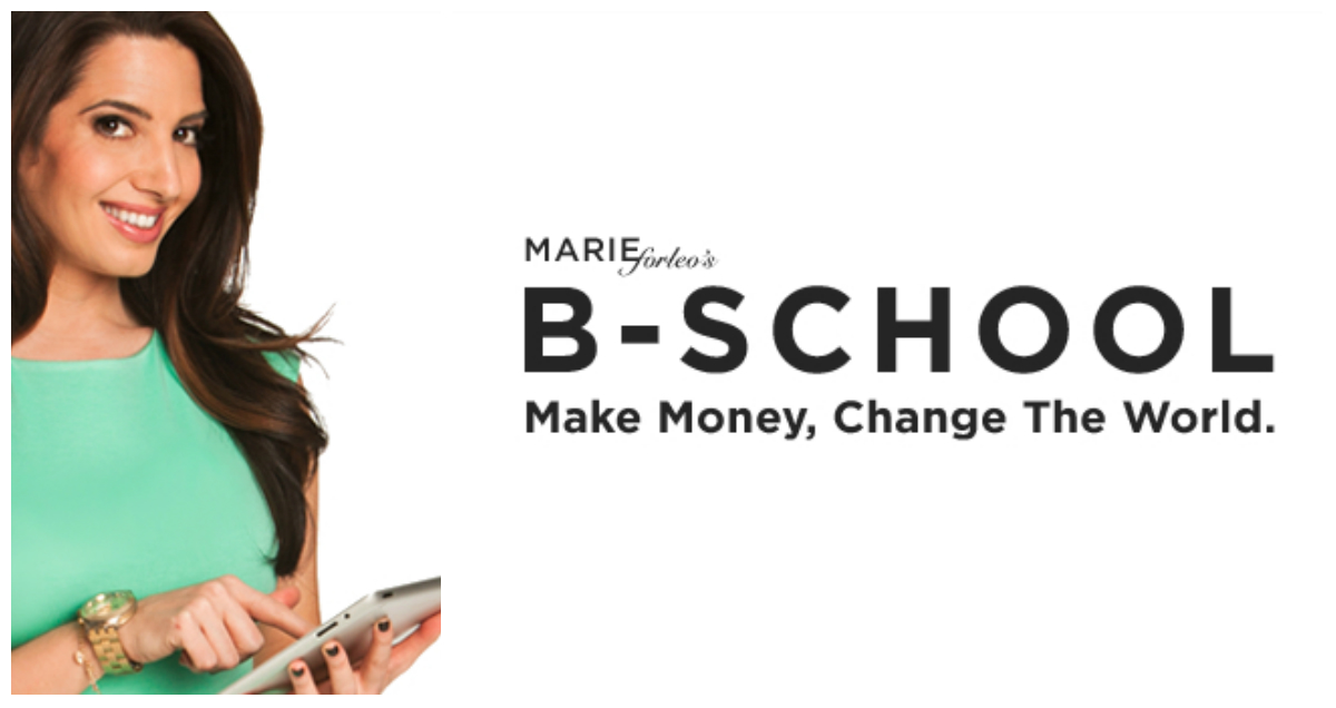 Marie Forleo's B-School (Business Course)