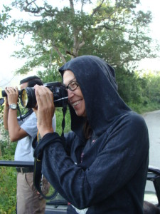 Julie Miller in Corbett Tiger Reserve