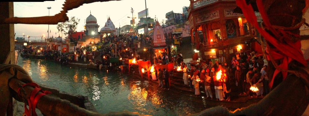 Evening Arti in Haridwar