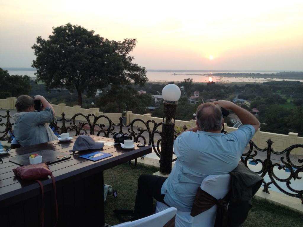 Noor Us Sabah palace sunset