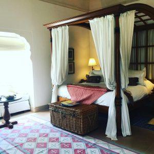 Oberoi Rajvilas room